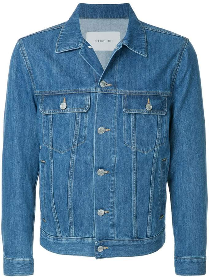 Cerruti classic denim jacket