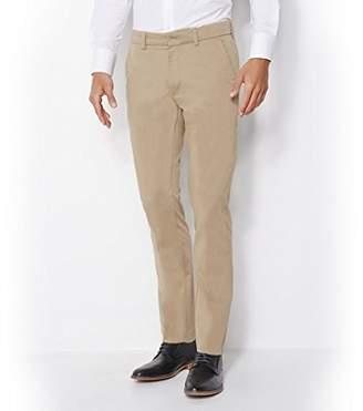 Dockers Best Pressed Insignia Extra Slim - Stretch Sateen Trouser, Brown (C20341 Khaki 0001), W32/L34 (Size: 32 34)