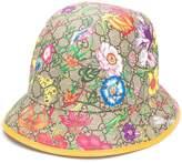 Gucci GG Flora fedora hat