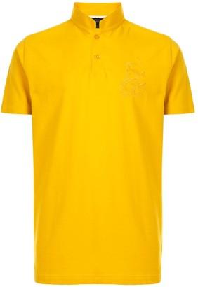 Shanghai Tang Embroidered Logo Polo Shirt