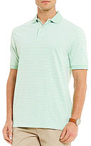 Daniel Cremieux Oxford Piques Stripe Short-Sleeve Polo Shirt