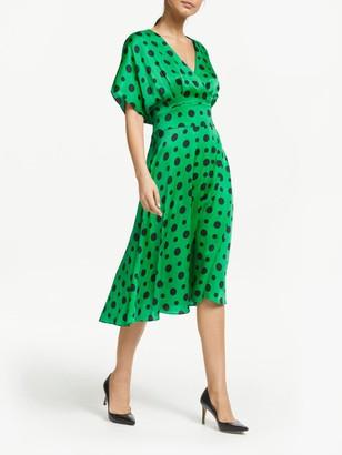 Winser London Satin Wrap Over Dress