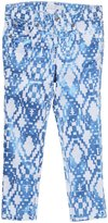 7 For All Mankind Skinny Jeans (Kids) - Ethnic Geo Blue-6