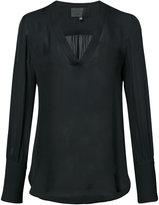 Nili Lotan v-neck blouse