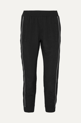 RtA Zip-embellished Shell Track Pants - Black