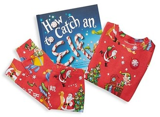 Books to Bed Little Boy's Three-Piece How To Catch An Elf Book & Pajama Set