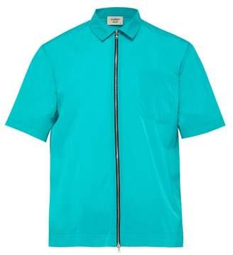 Everest Isles - Zip Up Beach Shirt - Mens - Blue