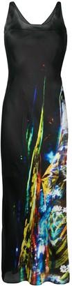 Maison Margiela Moving Metallics long dress