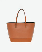 Le Château Saffiano Leather-Like Tote Bag