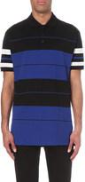 Givenchy Stripe print cotton-piqué polo shirt