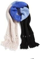 Kate Spade Hand Knit Colorblock Muffler