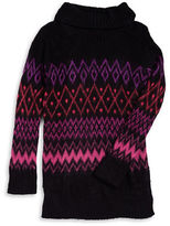 Planet Gold Girls 7-16 Zigzag Turtleneck Sweater