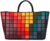 Anya Hindmarch 'Ebury' pixel tote - women - Suede - One Size