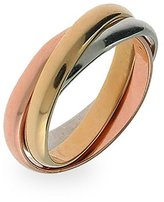 Eve's Addiction Three Tone Triple Roll Ring