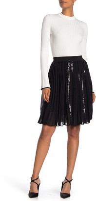 HUGO Rulde Sequin Skirt