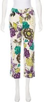 Etro Printed Crop Pants w/ Tags