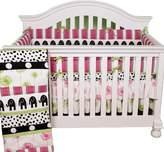 Cotton Tale Designs 4-Piece Hottsie Dottsie Crib Bedding Set, 1-Pack