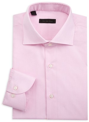 Saks Fifth Avenue COLLECTION Pinstripe Dress Shirt