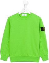 Stone Island Junior - crew neck sweatshirt - kids - Cotton - 10 yrs