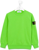 Stone Island Junior - crew neck sweatshirt - kids - Cotton - 6 yrs