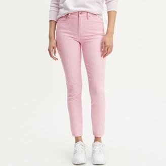 Levi's 721 High Waist Skinny Ankle Grazer Jeans