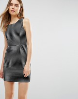 Wal G Dress In Stripe