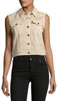 Calvin Klein Jeans Khaki Trucker Vest