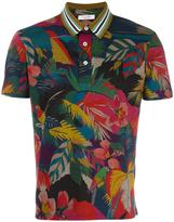 Valentino Garavani Valentino tropical print polo shirt - men - Cotton/Polyester/Viscose - S
