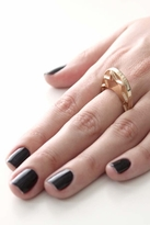 House Of Harlow Zig Zag Stacking Ring in Gold
