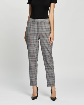 Spurr Women's Grey Cropped Pants - Ankle Grazer Pants - Size 6 at The Iconic
