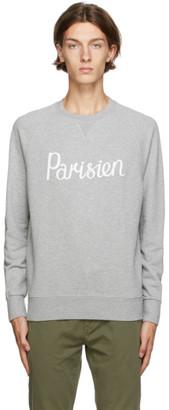 MAISON KITSUNÉ Grey Palais Royal Sweatshirt