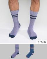 Asos Tube Style Socks 2 Pack