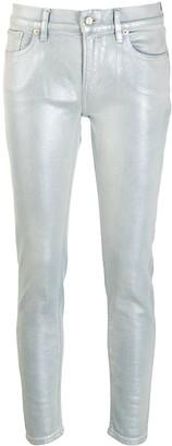 Ralph Lauren Metallic Sheen Jeans