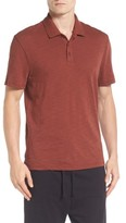 Vince Men's Slub Cotton Polo