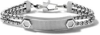 Bulova Mens Precisionist ID Link - J96B003M - Silver