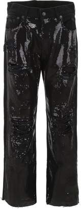 R 13 Sequined Jeans