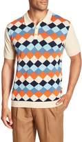 Barque Argyle Sweater Polo