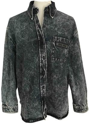 Miu Miu Blue Denim - Jeans Top for Women