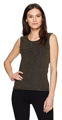 Chaus Women's Chevron Lurex Tank