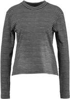 Wemoto LEEMA Long sleeved top black/white
