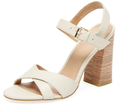 City Leather Two-Piece Sandal