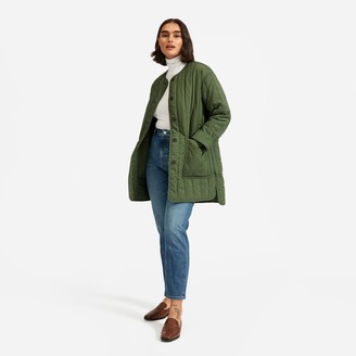 Everlane The Cotton Quilted Jacket