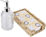 Thumbnail for your product : Seventh Studio Sunflower 3-Piece Guest Bath Napkin Set Bedding