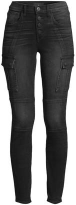3x1 Vida High-Rise Skinny Cargo Jeans