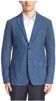 J. Lindeberg Men's Hopper Pp Unconstructed Washed Hopsack Sportcoat