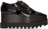 Stella McCartney Black Star Platform Elyse Derbys
