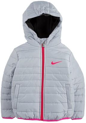 Nike Toddler Girl Full-Zip Puffer Jacket