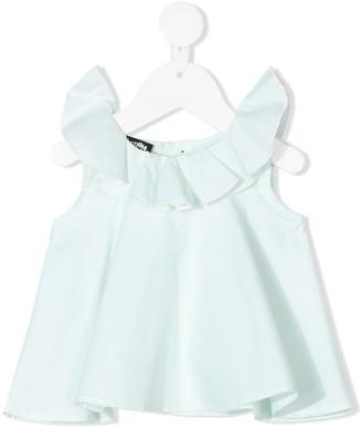 Infantium Victoria Ruffled Organic Cotton Top