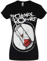 My Chemical Romance Women's Hourglass MCR T-shirt Black
