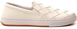 Bottega Veneta Maxi Woven Slip-On Sneakers